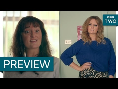 Natalie Cassidy vs Kimberley Walsh  Morgana Robinson's The Agency: Episode 3 P  BBC Two