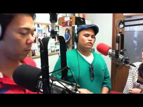 Julius Mina performs live on Midday Show with Allan Alvarez