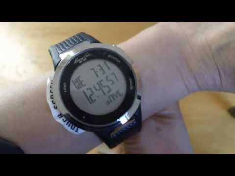 REVIEW KENNETH COLE NY KC1697 OZ WARRANTY SCREEN TOUCH BLACK DIGITAL LEATHER WATCH