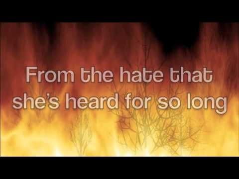 Forest Fire by Josh Wilson (w/ lyrics on screen)