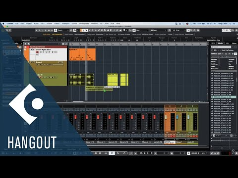 August 7 2020 Club Cubase Google Hangout