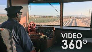 VIDEO 360: A bordo del ferrocarril más antiguo de Perú