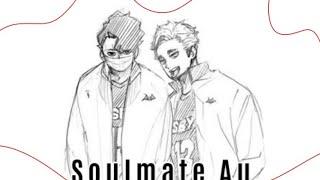 Soulmate Au | Sakuatsu Oneshot