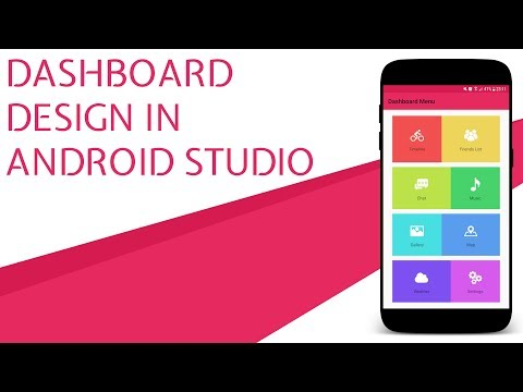 Dashboard UI Design In Android Studio (With Source Code)