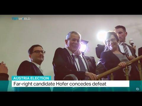 Austria Election: Far-right candidate Hofer concedes defeat