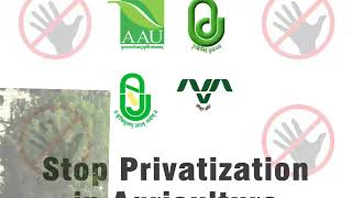 Stop Privatization of Agriculture AAU Anand 1