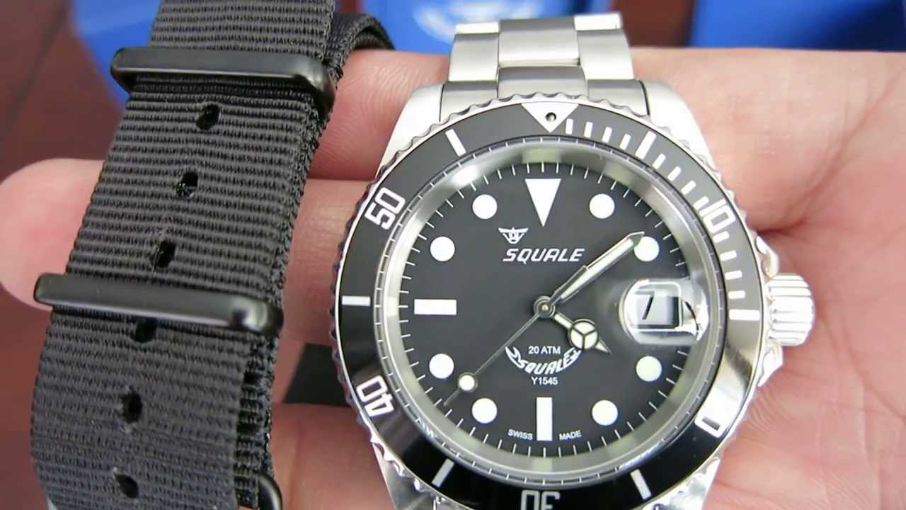blu atmos watches blue squale