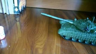 збірна модель танка т-72 б дороботаная і анонс на збірку т ??