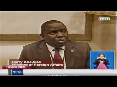 Heads of States Summit in Angola Postponed ZNBC TV 1 News 11022016