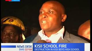 Kisii Boys High School burns under mysterious circumstances