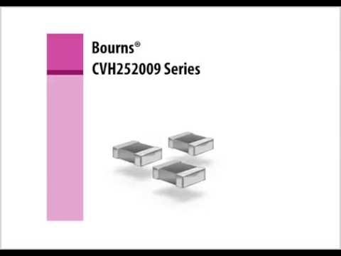 Bourns CVH252009 Series Power Chip Inductor Training