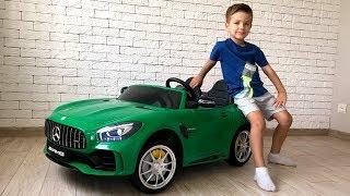Заказал новую большую машинку Мерседес AMG GTR.