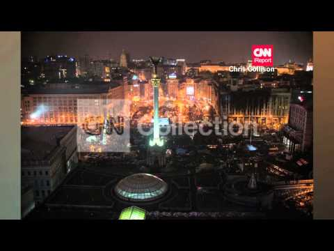 UKRAINE:PROTESTERS MOURN IN KIEV