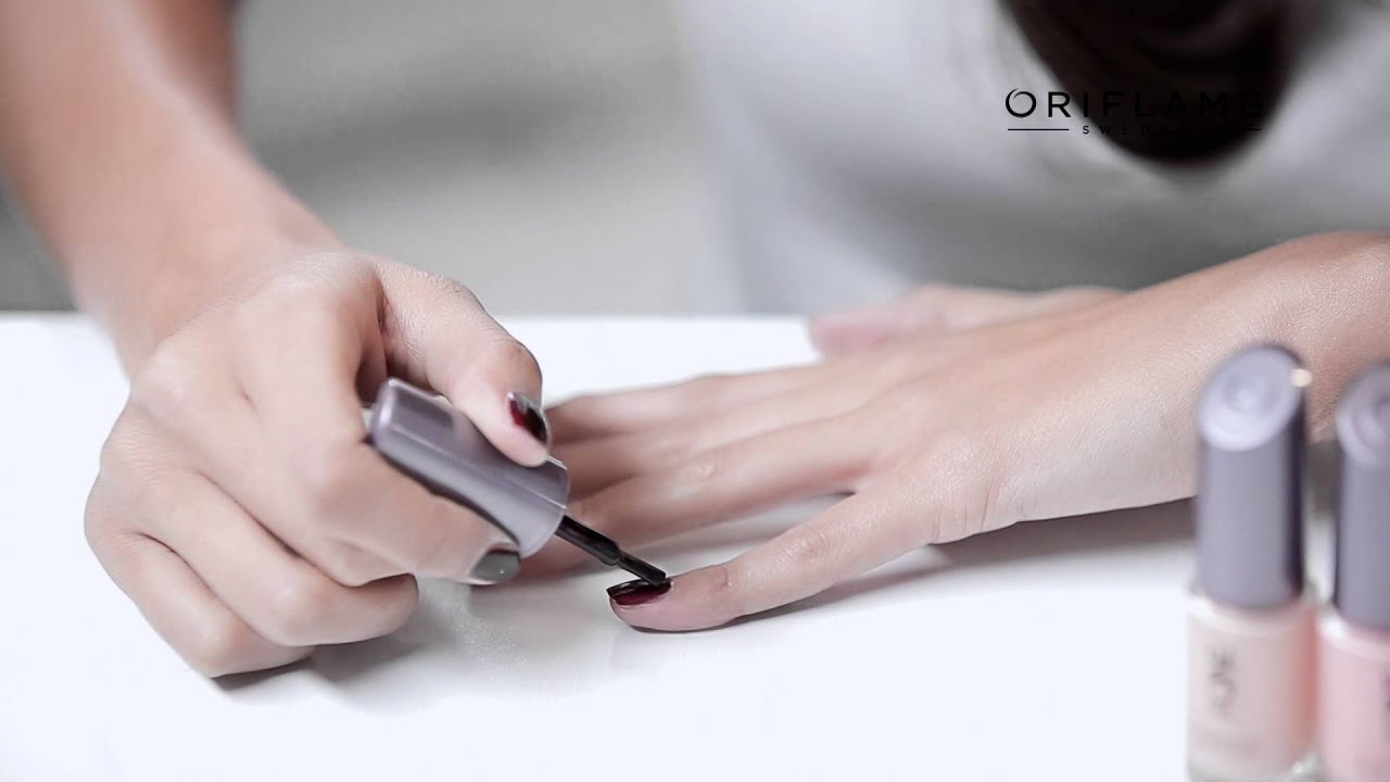Oriflame The ONE Tutorial - Long Wear Nail Polish - YouTube