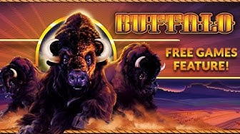 Buffalo - Free Games Feature