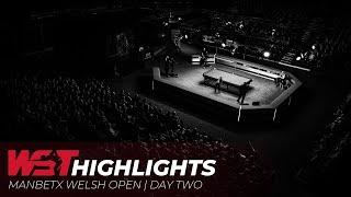 ManBetX Welsh Open | Day Two Highlights!