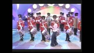2RRF Drums Blue Peter 2001 2nd Fusiliers BBC Royal Regiment of Fusiliers