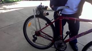 25cc Weedeater bike trial