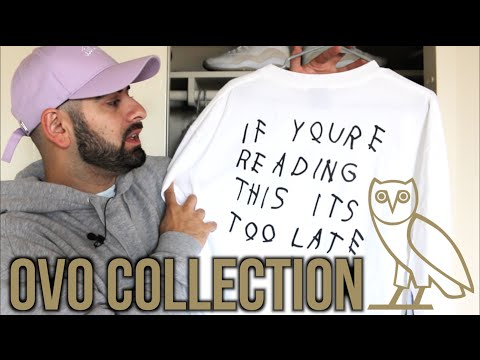 DRAKE OVO COLLECTION (Shirts, Hats, Sneakers and more)