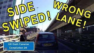 UK Dash Cameras - Compilation 24 - 2018 Bad Drivers, Crashes + Close Calls