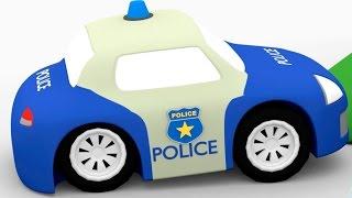 Песенка про полицейскую машину. Мультфильмы для детей.