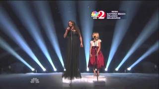 Jackie Evancho & Sarah Brightman  ~ Time to Say Goodbye