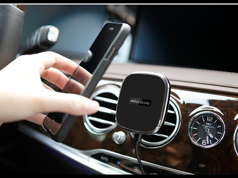Magnetic qi wireless car charger mount 12