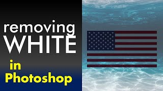 REMOVING WHITE BACKGROUND iฑ Photoshop - 3 Different Ways!