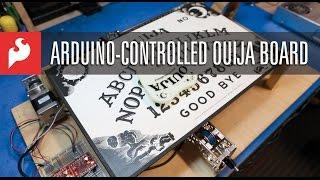 SparkFun Arduino Controlled Ouija Board