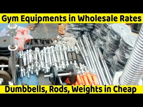 VikVlogs #17 | 💪 Gym Equipments in Cheap Rates in Chor Bazaar💪 | Wholesale Gym Equipments |🔥