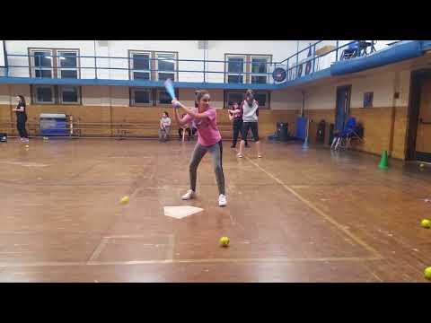 DWI Softball Academy of America  Softball Clinic 12/21/17