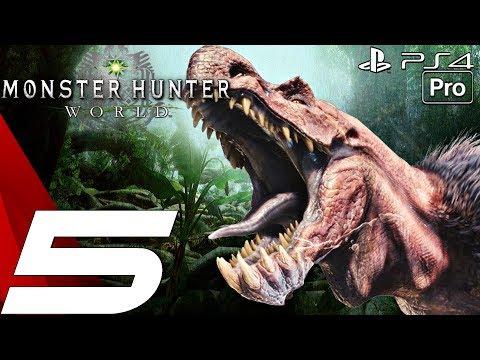 Monster Hunter World Gameplay Walkthrough Part 5