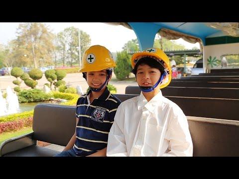 Kids Adventure in GREEN FACTORY: Thailand