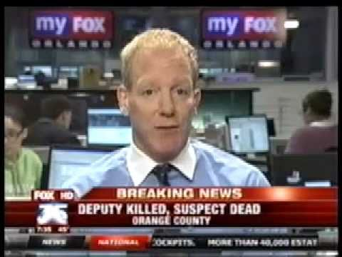 "Orange County Deputy Sheriff Shot ""Good Day"" News Int. 12/09/10 Dr. Richard Weinblatt"