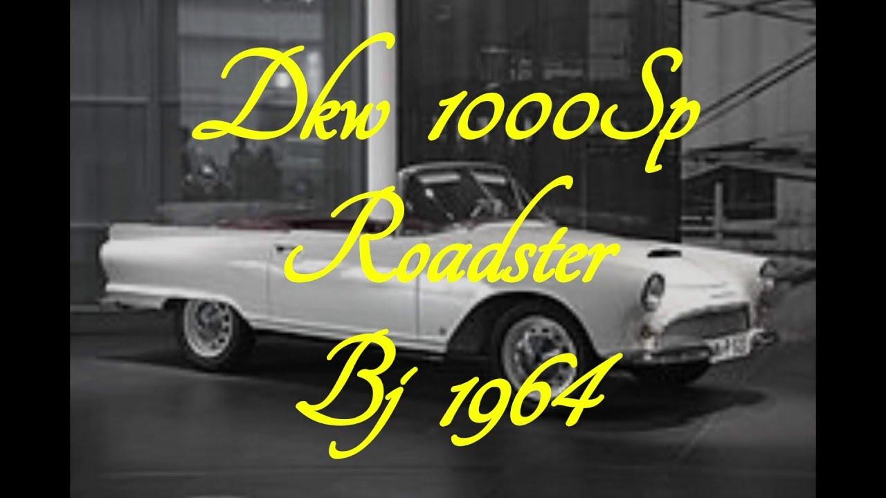 dkw 1000 sp roadster bj 1964 youtube. Black Bedroom Furniture Sets. Home Design Ideas