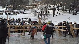 Масленница и Синяки: Это Рыцарские Бои и Турнир на Спивочем Поле, Киев