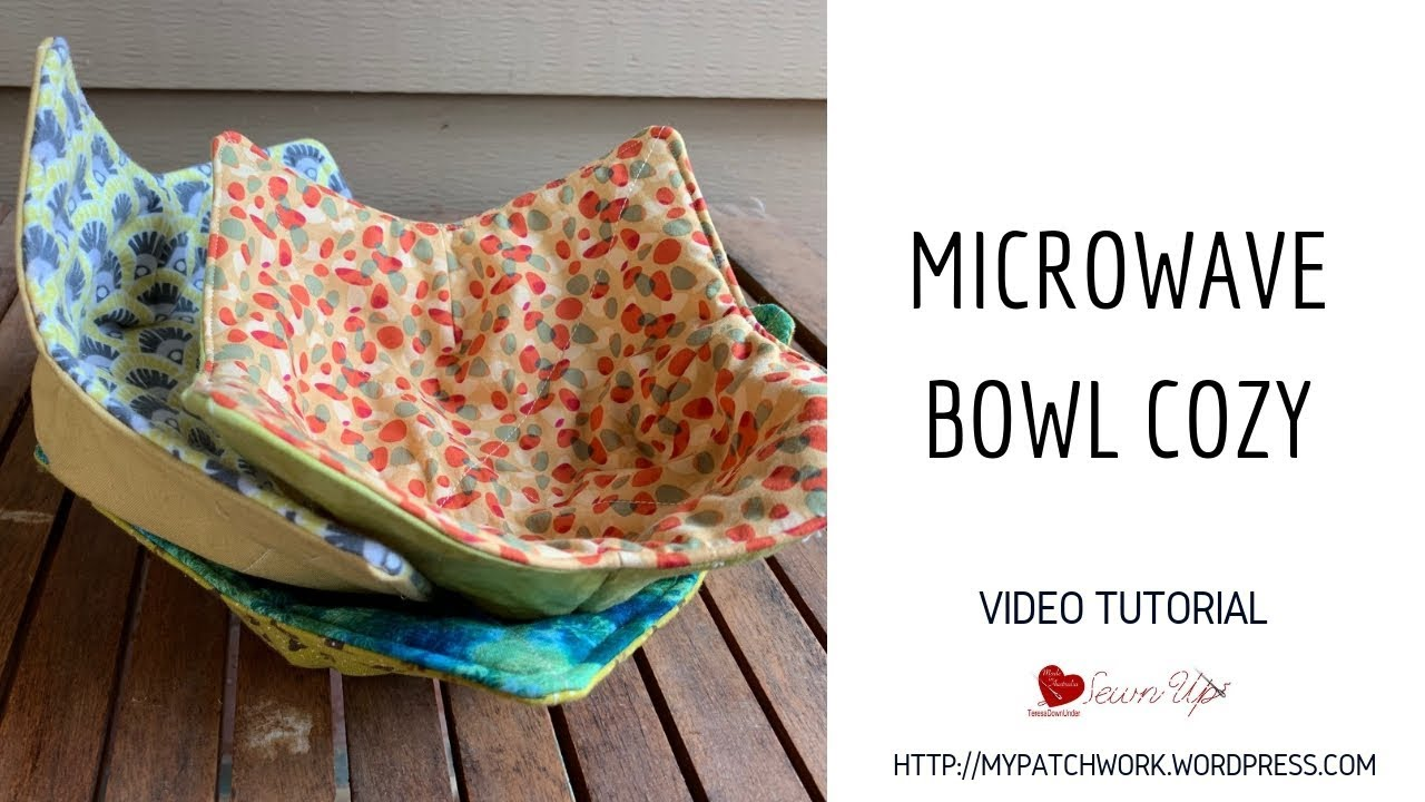 Microwave Bowl Cozy Video Tutorial