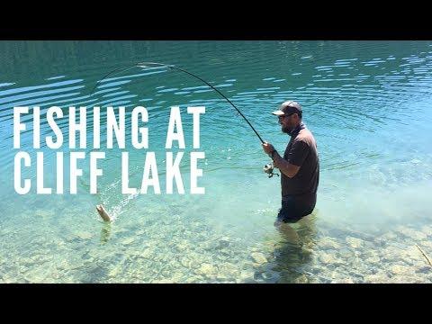 Family Fishing Trip To Cliff Lake Montana