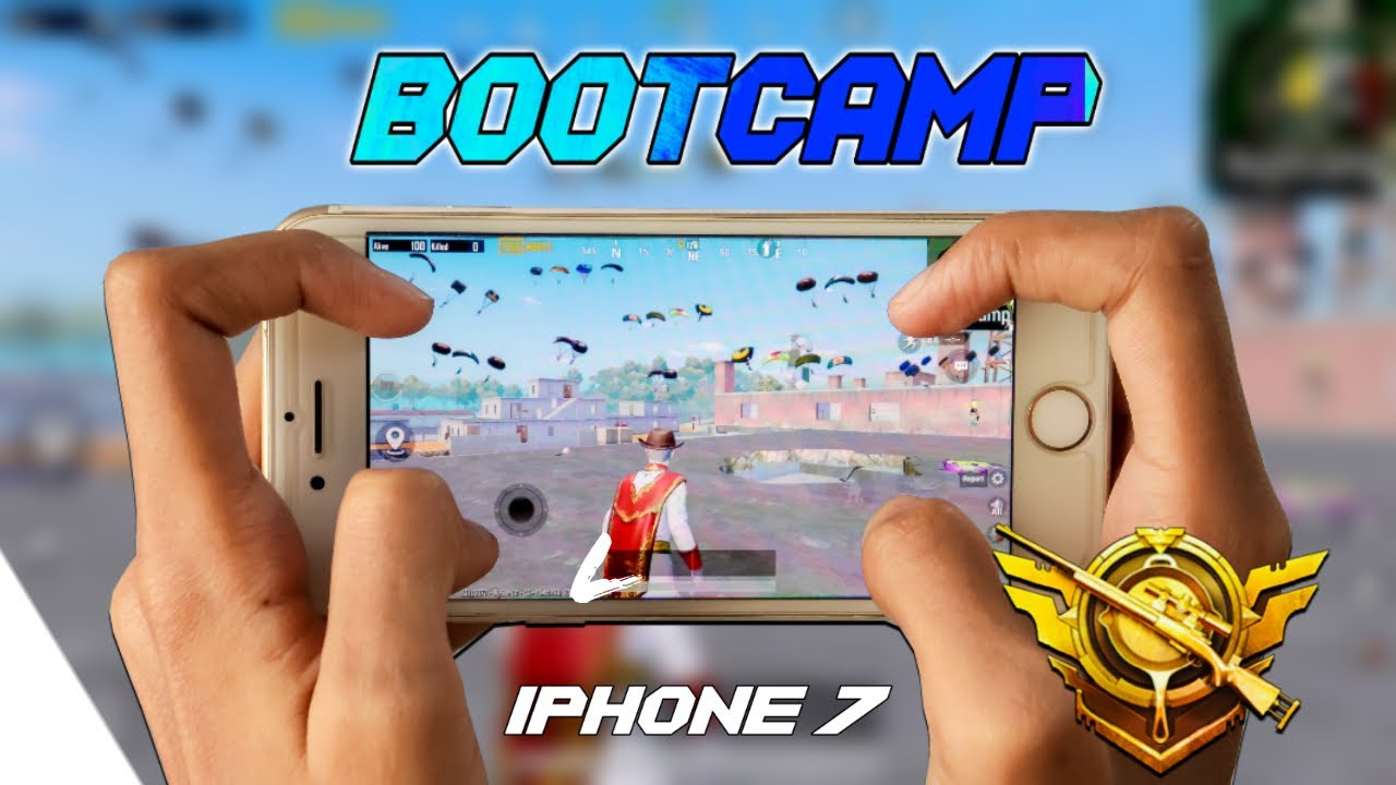 iPHONE 7 PUBG Test 2021 Full Gameplay | KING OF BOOTCAMP| PUBG MOBILE