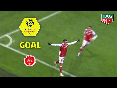 Goal Mathieu CAFARO (24') / Stade de Reims - AS Monaco (1-0) (REIMS-ASM) / 2018-19
