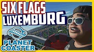 Six Flags - Luxemburg | PARKTOUR - Planet Coaster