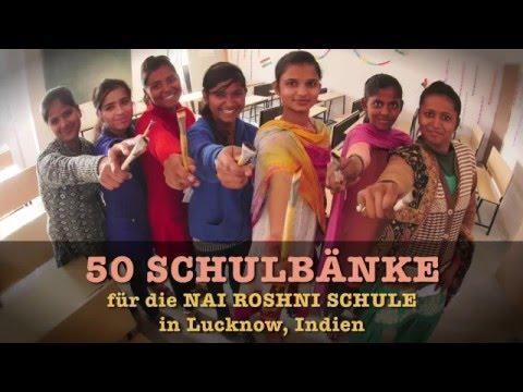 SCHULBÄNKE für SLUM GIRLS • CAN-Xmas • DANKE !!!