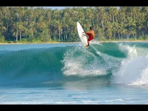 SURFING in SORAKE,NIAS ll INDONESIA