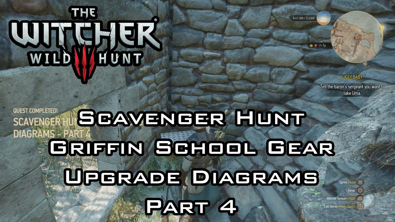The Witcher 3: Wild Hunt - Scavenger Hunt: MASTERCRAFTED Griffin ...
