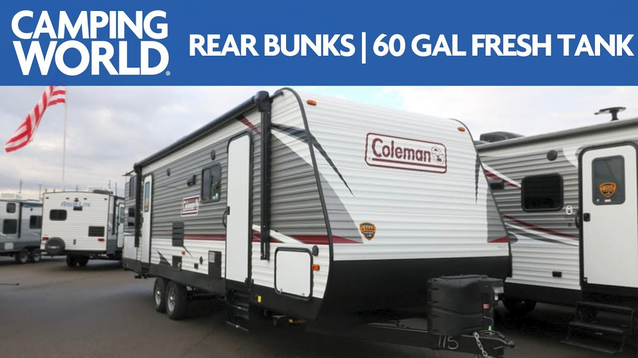 hight resolution of 2019 coleman lantern 285bh bunkhouse travel trailer rv review camping world