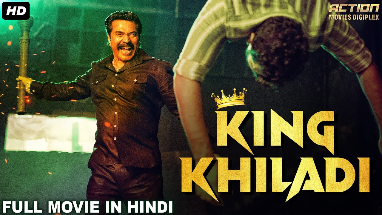 KING KHILADI Hindi Dubbed Full Action Romantic Movie |South Indian Movies Dubbed In Hindi Full Movie