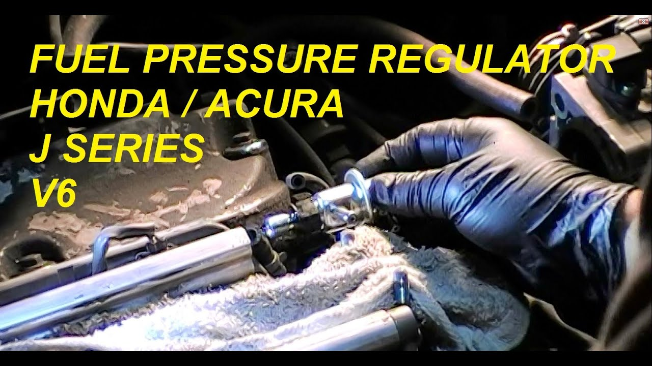 diy: acura honda (fpr) fuel pressure regulator j series v6 - bundys garage