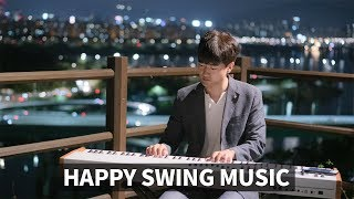 Happy Swing Jazz Piano Music for Cafe BGM 공부할 때 듣기 좋은 스윙 재즈 피아노 연주곡 모음