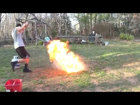 burning motor oil and water