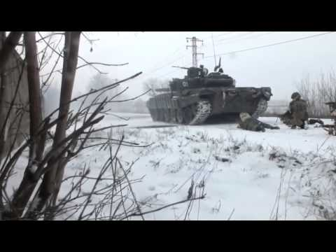 Ukraine War: Pro-Russian troops ambushed in Debaltseve - Ополченцы засаду Дебальцево